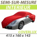 Housse intérieure semi-sur-mesure en Jersey - Housse auto : Bache protection AC Cobra cabriolet