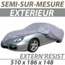 Housse extérieure semi-sur-mesure en PVC ExternResist - Housse auto : Bache protection Pontiac LeMans cabriolet