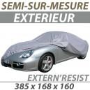 Housse extérieure semi-sur-mesure en PVC ExternResist - Housse auto : Bache protection Morris Minor cabriolet