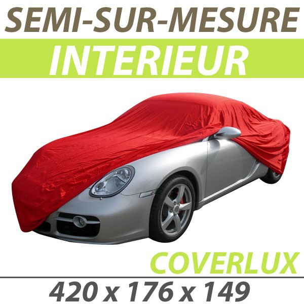 housse auto renault clio 4 rs bache protection voiture semi sur mesure interieure garage coverlux. Black Bedroom Furniture Sets. Home Design Ideas