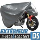 Bache moto protection extérieure, housse ExternLux taille DS