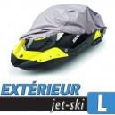 Bache jet-ski protection extérieure, housse en PVC Taille L