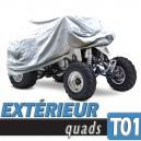 Bache quad protection extérieure, housse en PVC Taille 01
