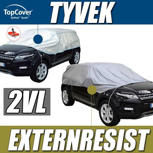demi bache anti uv protection voiture exterieure interieure garage tyvek pour voitures 2vl. Black Bedroom Furniture Sets. Home Design Ideas