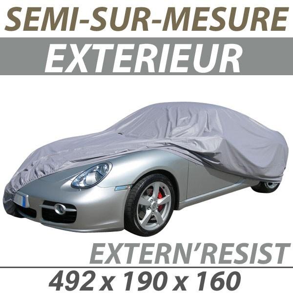 bache voiture peugeot 3008 housse protection voiture semi sur mesure exterieure externresist. Black Bedroom Furniture Sets. Home Design Ideas