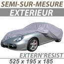 Bache extérieure imperméable semi sur mesure en PVC ExternResist 4x4 Audi Q7