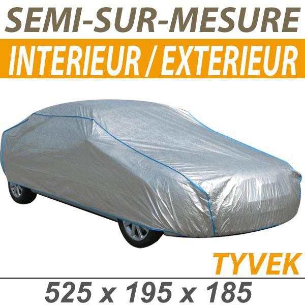 Housse 4x4 bmw x6 bache protection voiture semi sur mesure interieure garage exterieure tyvek - Protection garage voiture ...