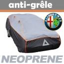 Bache anti-grele en néoprène pour voiture Alfa Roméo Coda Tronca