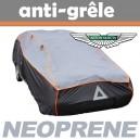 Bache anti-grele en néoprène pour voiture Aston Martin V8 Vantage