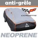 Bache anti-grele en néoprène pour voiture Corvette C6