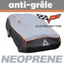 Bache anti-grele en néoprène pour voiture Corvette C7 Z06