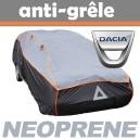 Bache anti-grele en néoprène pour voiture Dacia Logan