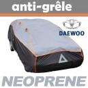 Bache anti-grele en néoprène pour voiture Daewoo Lanos 3/5 portes
