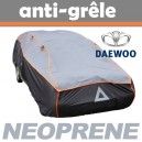 Bache anti-grele en néoprène pour voiture Daewoo Nubira 4 portes