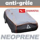 Bache anti-grele en néoprène pour voiture Daihatsu Materia