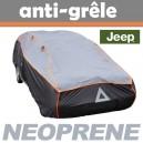 Bache anti-grele en néoprène pour voiture Jeep Wrangler Court