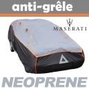 Bache anti-grele en néoprène pour voiture Maserati Ghibli Spyder