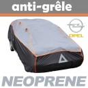 Bache anti-grele en néoprène pour voiture Opel Zafira B
