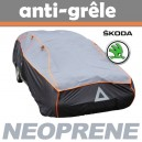 Bache anti-grele en néoprène pour voiture Skoda Fabia
