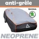 Bache anti-grele en néoprène pour voiture Skoda Rapid