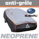 Bache anti-grele en néoprène pour voiture Subaru Justy
