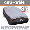 Bache anti-grele en néoprène pour voiture Toyota Auris 2