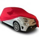 Bache intérieure sur-mesure pour garage en Jersey Coverlux+ Fiat 500 Abarth