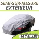 Housse extérieure semi-sur-mesure en PVC ExternResist - Housse auto : Bache protection voiture