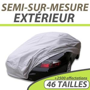 Bache extérieure imperméable semi sur mesure en PVC ExternResist auto