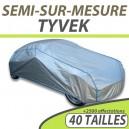 Housse extérieure/intérieure semi-sur-mesure en Tyvek - Housse auto : Bache protection voiture