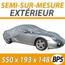 Housse extérieure universelle en PVC Taille BP5 - Housse auto : Bache protection voiture