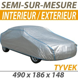 Bache protection voiture mixte semi sur mesure en Tyvek Dodge Viper RT 10